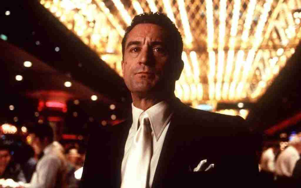 Robert De Niro in his iconic role as Ace Rothstein in the movie Casino