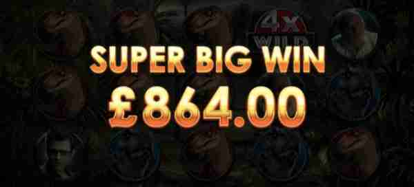 A Super Big Win on Jurassic Park Online Slot