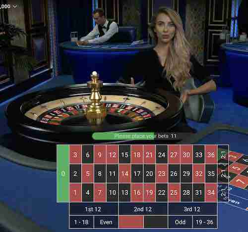 Live Casino Dealer Online - Roulette